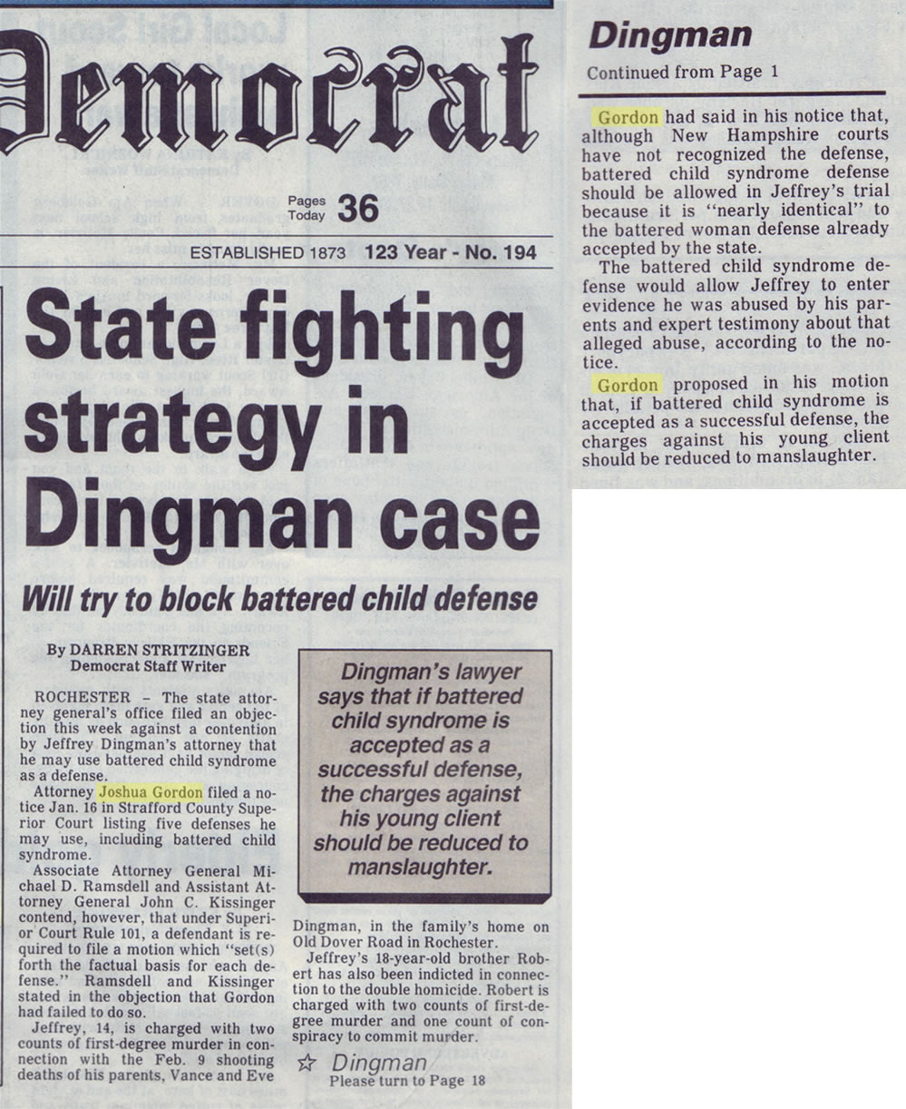 State figting strategy in Dingman case