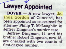 Lawyer appointed